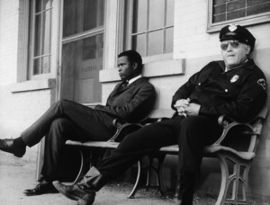 """""""In the Heat of the Night"""" Sidney Poitier, Rod Steiger1967 UA - Image 5502_0005"""