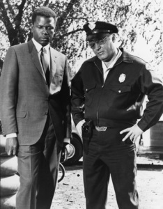 """""""In the Heat of the Night""""Sidney Poitier, Rod Steiger1967 United Artists - Image 5502_0061"""