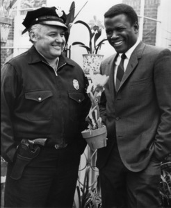 """In the Heat of the Night""Sidney Poitier, Rod Steiger1967 United Artists - Image 5502_0063"