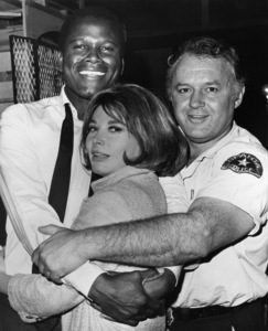 """""""In the Heat of the Night""""Sidney Poitier, Rod Steiger, Lee Grant1967 United Artists - Image 5502_0077"""