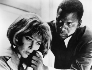 """In the Heat of the Night""Lee Grant, Sidney Poitier1967** H.L. - Image 5502_0088"