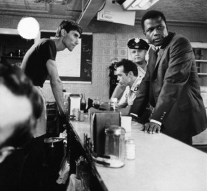 """In the Heat of the Night""Anthony James, Warren Oates, Rod Steiger, Sidney Poitier1967** I.V. - Image 5502_0101"