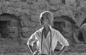 """Joanne Woodward on location in Israel during the making of """"Exodus""""1960 United Artists © 1978 Leo Fuchs - Image 5505_0016"""