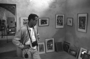 """Paul Newman on location in Israel during the making of """"Exodus""""1960 United Artists © 1978 Leo Fuchs - Image 5505_0027"""