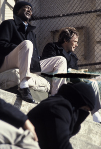 """""""Escape from Alcatraz""""Paul Benjamin, Clint Eastwood1979 Paramount © 1979 Ron Grover - Image 5517_0012"""