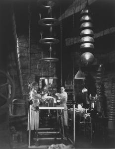 """""""Frankenstein""""Edward Van Sloan, Dwight Frye1931 Universal - Image 5577_0001"""