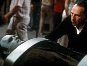 """Young Frankenstein""Peter Boyle, Director Mel Brooks1974 20th Century Fox** I.V. - Image 5578_0010"