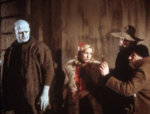"""Young Frankenstein""Peter Boyle, Teri Garr, Gene Wilder, director Mel Brooks1974 20th Century Fox** I.V. - Image 5578_0013"
