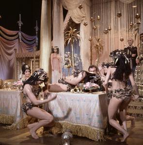 """Cleopatra""Richard Burton, Elizabeth Taylor1963 © 1978 David Sutton - Image 5589_0049"