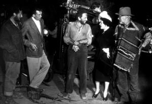 """The Treasure of the Sierra Madre""Tim Holt, John Huston, Humphrey Bogart, and Walter Huston1948 Warner Bros.MPTV - Image 5610_0003"