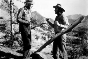 """The Treasure of the Sierra Madre""Humphrey Bogart and Tim Holt1948 Warner Bros.MPTV - Image 5610_0036"