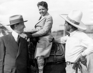 Will Hays with Tom Mix, 1927, I.V. - Image 5611_0001