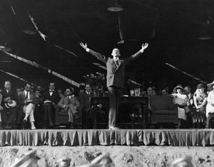 Will Hays speaking at Holllywood Bowl, 1922, I.V. - Image 5611_0003
