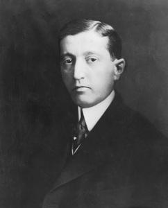 Will Hays portrait, photo by Underwood, 1920, I.V. - Image 5611_0005