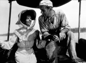 """The African Queen""Katharine Hepburn and Humphrey Bogart 1951 UAMPTV - Image 5636_0003"
