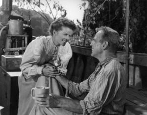 """The African Queen"" Katharine Hepburn, Humphrey Bogart 1951 ** I.V. - Image 5636_0011"