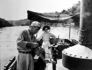 """The African Queen""Humphrey Bogart and Katharine Hepburn1951 UAMPTV - Image 5636_0012"