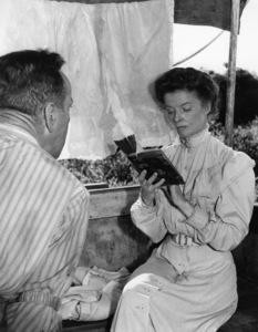 """The African Queen""Humphrey Bogart, Katharine Hepburn1951** I.V. - Image 5636_0129"
