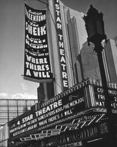 Four Star Theater1921Copyright John Swope Trust / MPTV - Image 5648_0015
