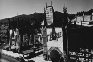 Hollywood and Los Angeles LandmarksMann Chinese Theater, 1938 © 1978 John Swope - Image 5648_0104