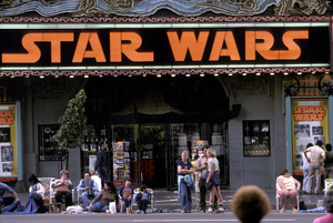 Theaters CategoryStar Wars marquee on Hollywood Blvd.Hollywood California1977 © 1978 Ulvis Alberts - Image 5648_0155