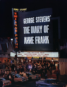 "Theater premiere of ""The Diary of Anne Frank""1959 © 1978 Sid Avery - Image 5648_0157"