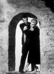 """""""Vertigo,""""James Stewart and Kim Novak.1958 Paramount - Image 5650_0018"""