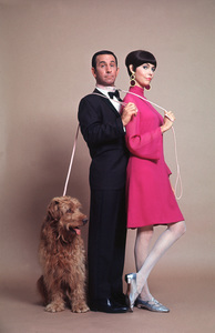 """Get Smart""Don Adams, Barbara Feldon1965 © 1978 Ken Whitmore - Image 5651_0062"