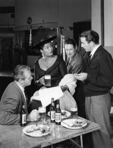 Pearl Bailey in a Rheingold Beer advertisementcirca 1950s© 1978 Paul Hesse - Image 5655_0003