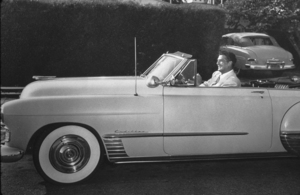 Victor Mature in his 1954 Cadillac*M.W.* - Image 5666_2