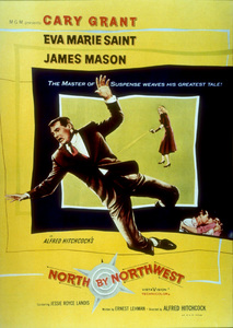 """""""North By Northwest,""""Color Poster.1959 MGM - Image 5667_0006"""