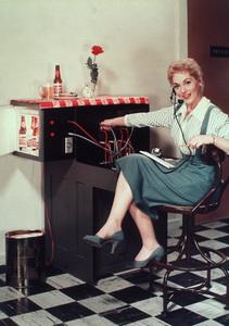 Judy Holliday, c. 1956.Photo by Paul Hesse - Image 5673_0031