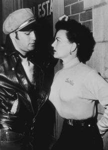 """The Wild One""Marlon Brando, Yvonne Doughty1954 Columbia - Image 5689_0004"