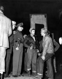 """The Wild One"" Marlon Brando behind the scenes1953 Columbia **I.V. - Image 5689_0015"