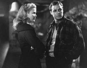 """On the Waterfront""Eva Marie Saint, Marlon Brando1954 Columbia**I.V. - Image 5690_0025"