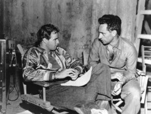 """A Streetcar Named Desire""Marlon Brando, director Elia Kazan1951 Warner Brothers - Image 5691_0010"