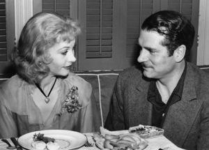 """Streetcar Named Desire, A""Vivien Leigh having lunch with Laurence Olivier, 1951, Warner Bros., **I.V. - Image 5691_0021"