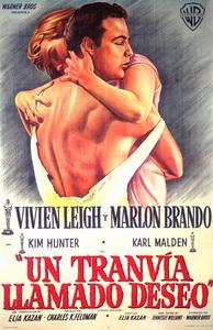 """A Streetcar Named Desire"" (Argentinian Poster)1951 Warner Brothers** I.V. - Image 5691_0024"