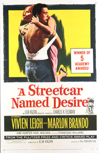"""""""A Streetcar Named Desire"""" (Poster)1951 Warner Brothers** I.V. - Image 5691_0034"""