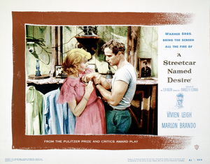 """A Streetcar Named Desire"" (Lobby Card)1951 Warner Brothers** I.V. - Image 5691_0035"