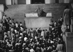 "Marlon BrandoFilm Set / MGM""Julius Caesar"" 1953Copyright John Swope Trust / MPTV - Image 5692_0007"