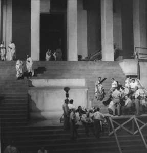 "Production Crew1953 / MGM""Julius Caesar"" (1953)Copyright John Swope Trust / MPTV - Image 5692_0012"