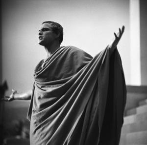 "Marlon Brando during the making of ""Julius Caesar"" 1952 © John Swope Trust - Image 5692_0022"