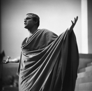 "Marlon Brando during the making of ""Julius Caesar"" 1952 © John Swope Trust - Image 5692_0022"