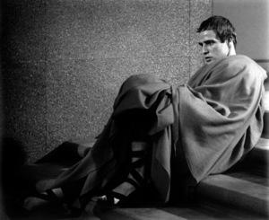 "Marlon BrandoFilm Set""Julius Caesar"" (1952)Copyright John Swope Trust / MPTV - Image 5692_0024"