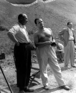 "Director Joseph Mankiewicz during the making of ""Julius Caesar"" 1952 © John Swope Trust  - Image 5692_0034"