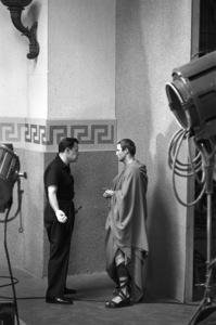 """Julius Caesar""Director Joseph L. Mankiewicz, Marlon Brando1952 © John Swope Trust - Image 5692_0054"