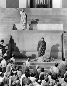 "James Mason and Marlon Brando in ""Julius Caesar""1953 MGM** I.V. - Image 5692_0068"