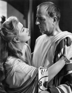 "Greer Garson and Louis Calhern in ""Julius Caesar""1953 MGM** I.V. - Image 5692_0069"