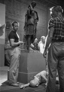 "Marlon Brando during the making of ""Julius Caesar"" 1952 © John Swope Trust - Image 5692_0073"